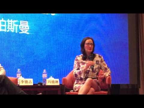 Grain Creative's Madelyn Postman talking at Branding & Innovation Seminar China 2015 - Part 2