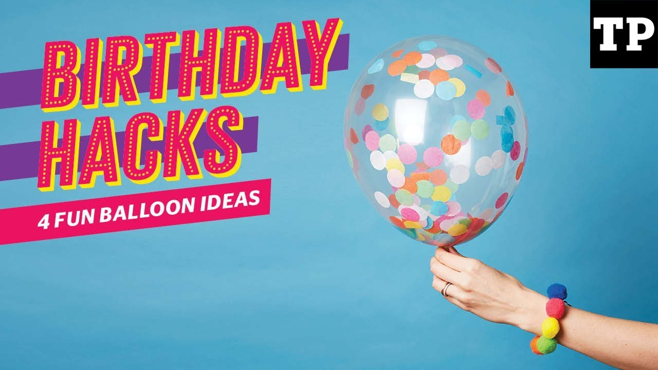 4 Fun Balloon Ideas