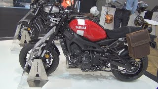 Yamaha XSR900 (2019) Exterior and Interior