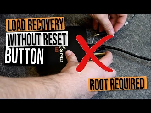 Boot Into ANDROID TV Box Recovery Without The RESET Button - Easy Peasy With Terminal App