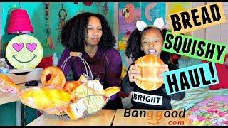 Bread Squishy Haul! Banggood.com Squishies