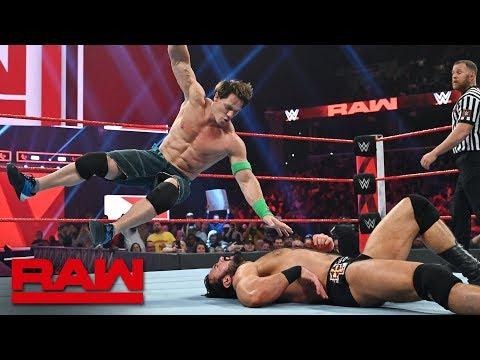 Cena vs. Bálor vs. McIntyre vs. Corbin - Winner faces Lesnar at Royal Rumble: Raw, Jan. 14, 2019