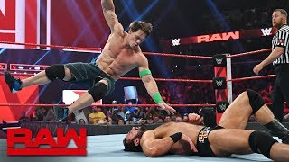 Cena vs. Bálor vs. McIntyre vs. Corbin - Winner faces Lesnar at Royal Rumble: Raw, Jan. 14, 2019