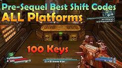 Borderlands The Pre-Sequel Best Working Shift Codes for ALL Platforms 100 Golden Keys
