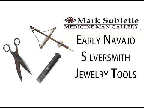 Native American Indian Jewelry: How to identify early Navajo Silversmith Jewelry Tools