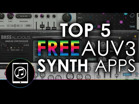 Top 5 Best FREE AUv3 Instrument and Synth Apps With Demos