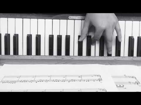 Jimin Serendipity piano tutorial EASY BASIS• | ARMY's Amino