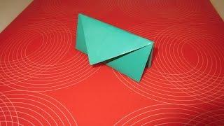 Как сделать бумажный кошелек оригами!