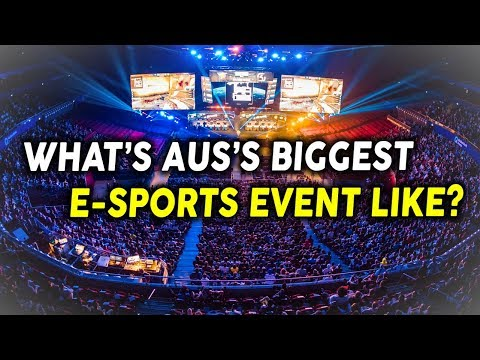 Intel Extreme Masters - The Biggest Progaming Event In Australia (VLOG)