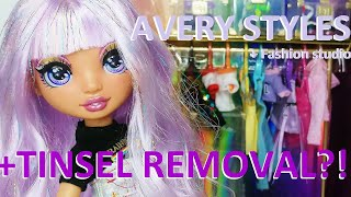Rainbow High doll WIG MAKE-OVER: Avery Styles + Fashion Studio (unboxing, review & hair make-over)
