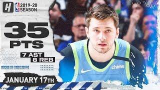 Luka Doncic EPIC 35 Pts Full Highlights | Blazers vs Mavericks | January 17, 2020