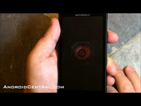 Motorola Droid X boot animation
