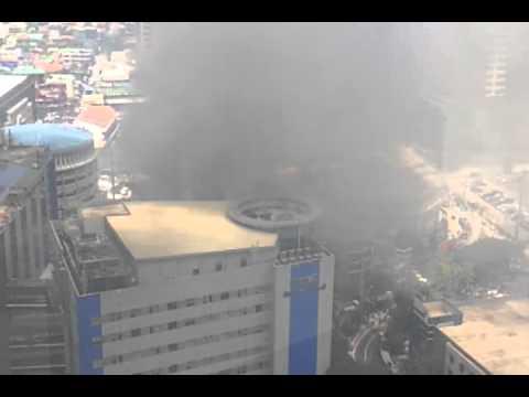 Fire along Urban Ave near Makati Medical Center