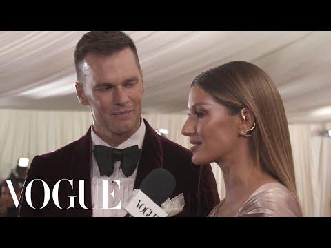 Gisele Bündchen on Her Sustainable Met Gala Dress | Met Gala 2019 With Liza Koshy | Vogue