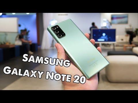 """Trên tay Samsung Galaxy Note 20 - Chiếc Note này rất """"lạ"""""""