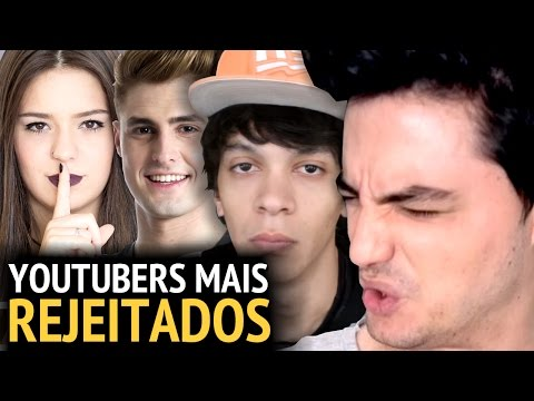 Thumbnail: OS YOUTUBERS MAIS REJEITADOS DO BRASIL