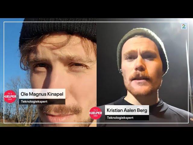 Teknokratiet tester ørepropper på TV2 Hjelper Deg