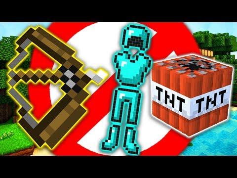 NO TNT, NO ARCO, NO ARMATURA!! - Minecraft Bedwars Challenge
