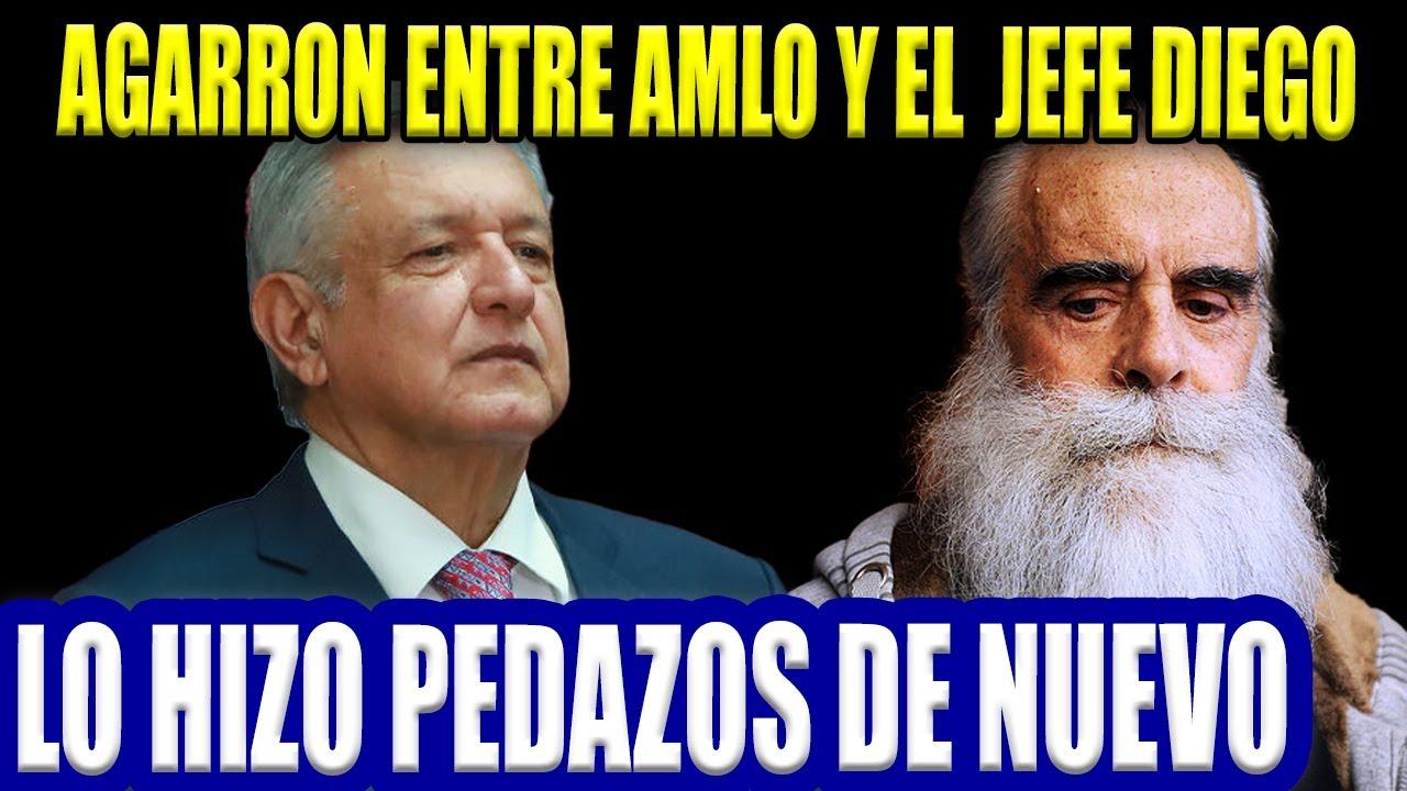 LO HACEN DE NUEVO! MEGA AGARRON ENTRE AMLO Y JEFE DIEGO...