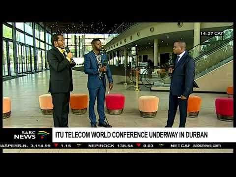 MTN SA CEO Motsa, Innovator Nkoloma on ITU Telecom World 2018