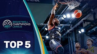 Top 5 Plays - Wednesday - Gameday 12 - Basketball Champions League 2018-19
