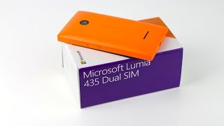 Microsoft Lumia 435 Dual Sim: Unboxing & First Impressions