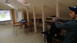 Правильный хват и спуск боевого крючка на интерактивном стрелковом тренажере