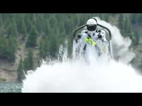 Stuntman pulls off crazy jet pack trick in Colorado