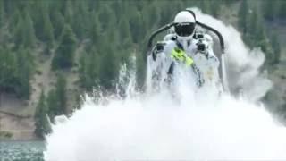 Stuntman pulls off crazy jet pack trick in Colorado