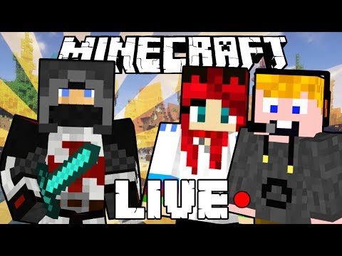 Minecraft Livestream! - Murder Mystery #3 haverokkal!
