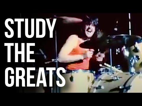 John Bonham Moby Dick Paradiddles | STUDY THE GREATS