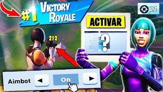 ACTIVATE This NEW OPTION TO NOT FAIL BALAS on Fortnite PS4/XBOX *AIMBOT* (Reset Camera)