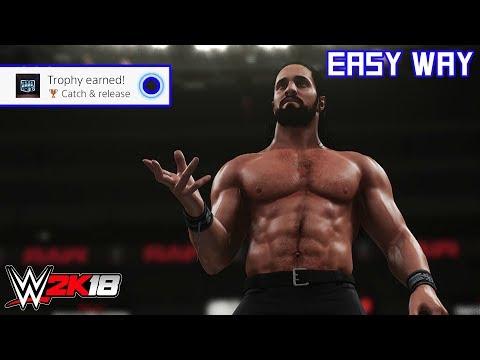 WWE 2K18 - Catch & release (Trophy/Achievement)   Easy Way