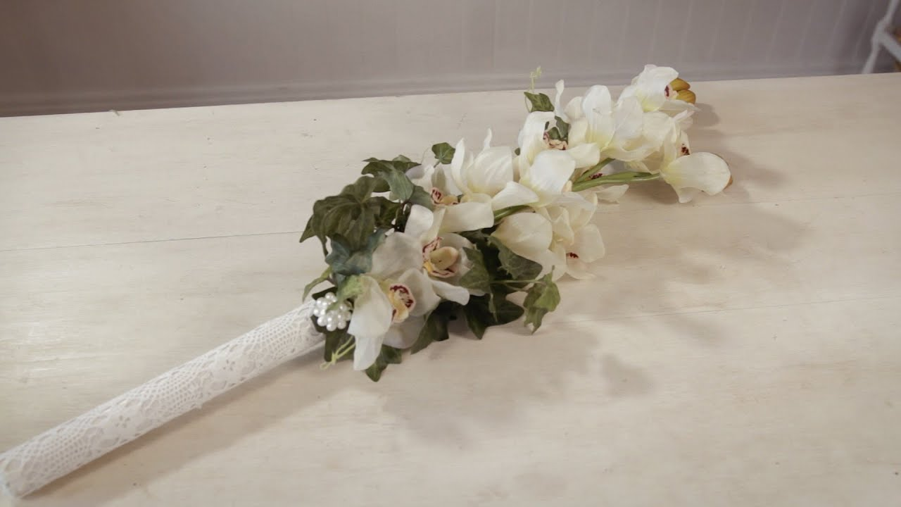 How to make a bouquet of orchids do it yourself 60