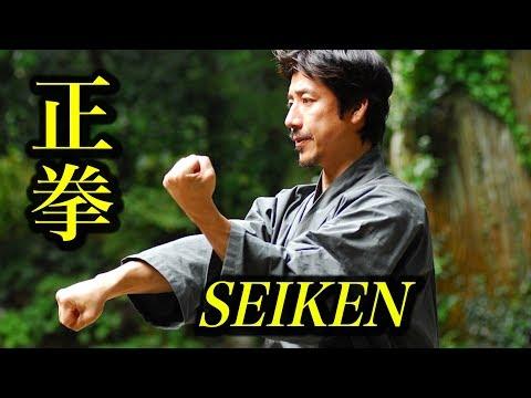 中達也が初心者に教える「正拳の握り方」Let's study how to make Seiken!