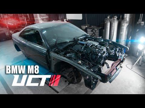 Турбины для 800 л.с. BMW M8 DSC OFF