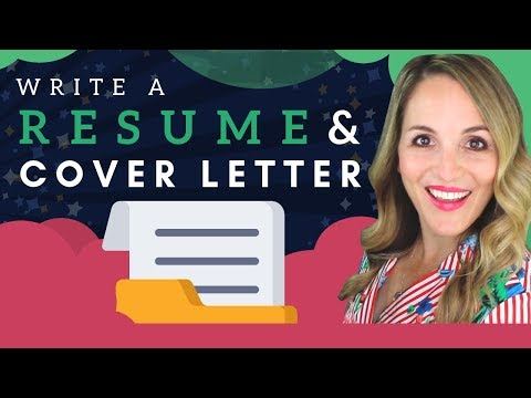How To Write A Resume AND Cover Letter – Resume AND Cover Letter Tips 2019