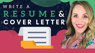 How To Write A Resume AND Cover Letter - Resume AND Cover Letter Tips 2018