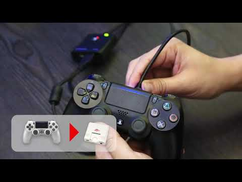【Super Converter】P3/P4 to Mega Drive/PC Engine converter Demo