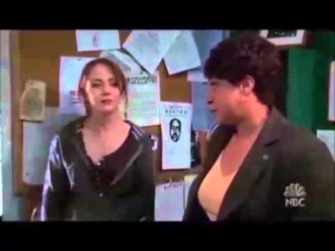 Pregnancy scenes from Law & Order
