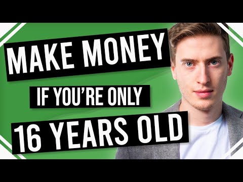 How to Make Money Online as a 16 Year Old - This really works!!