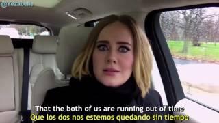 Adele Carpool Karaoke「Sub Español」P. 1 | By Carolina Amao