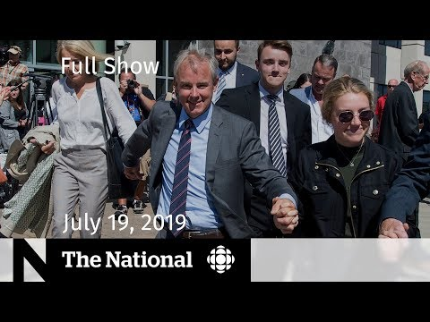 The National for July 19, 2019 — Oland Acquittal, Extreme Heat, Apollo 11