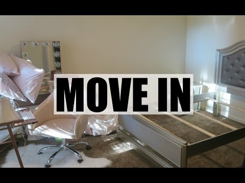 COLLEGE SENIOR #1: MOVING INTO MY COLLEGE APARTMENT
