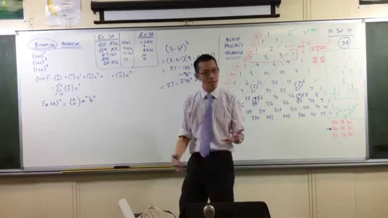 Expressing Terms In A Generalised Binomial Expansion Youtube