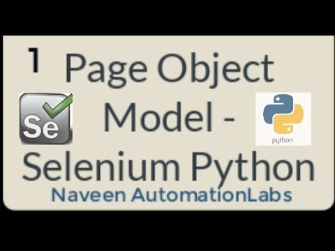 Download Page Object Model - Python Selenium with PyTest - Part 1