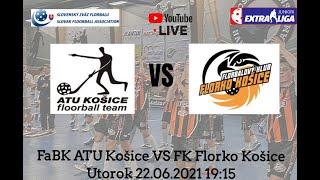 Extraliga juniorov FaBK ATU Košice VS FK Florko Košice  22.06.2021