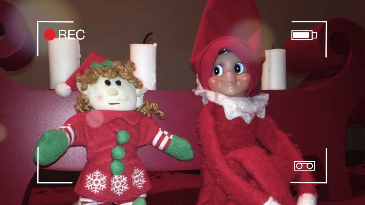 Elf on the Shelf caught smiling and moving eyes YouTube