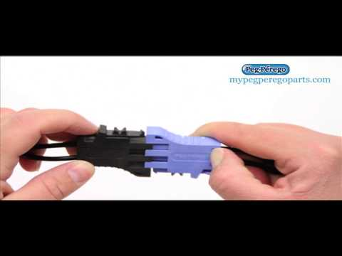 How To Plug Your Peg Perego Battery Into Your Charger Or Ride On Toy?