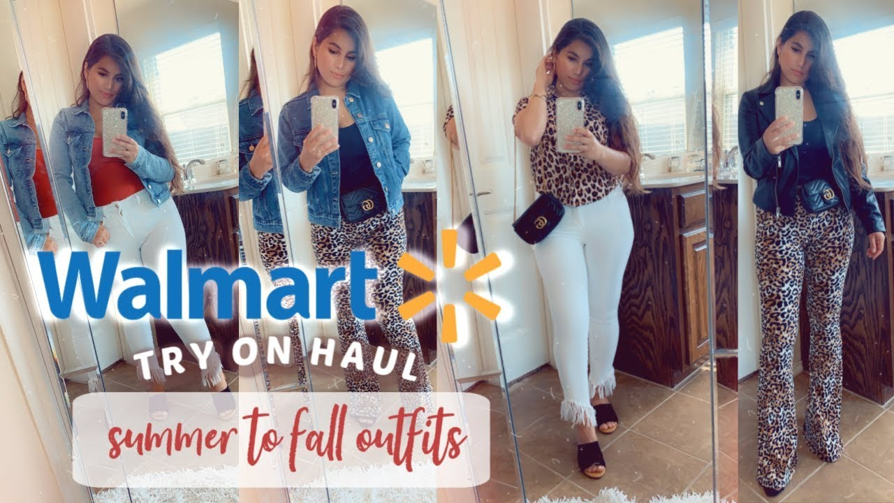 [VIDEO] - WALMART TRY ON HAUL | SUMMER TO FALL TRANSITION OUTFITS 2019 5